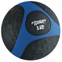 Fitness Gear 12 lb Medicine Ball Blue