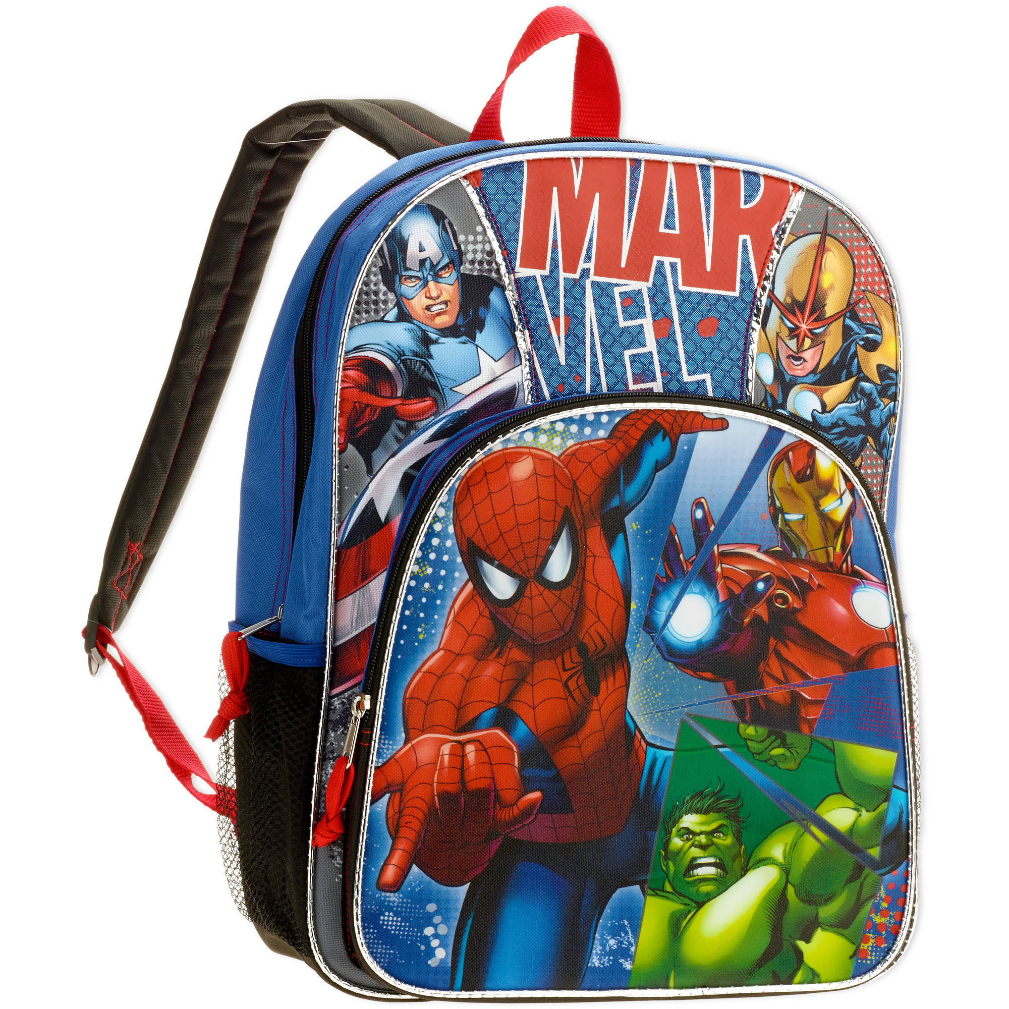 "16"" Marvel Heroes Full Size Backpack"