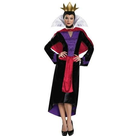 Morris Costumes DG85702E Evil Queen Deluxe Adult Costume, Size 12-14 - Snow White And Evil Queen Costumes