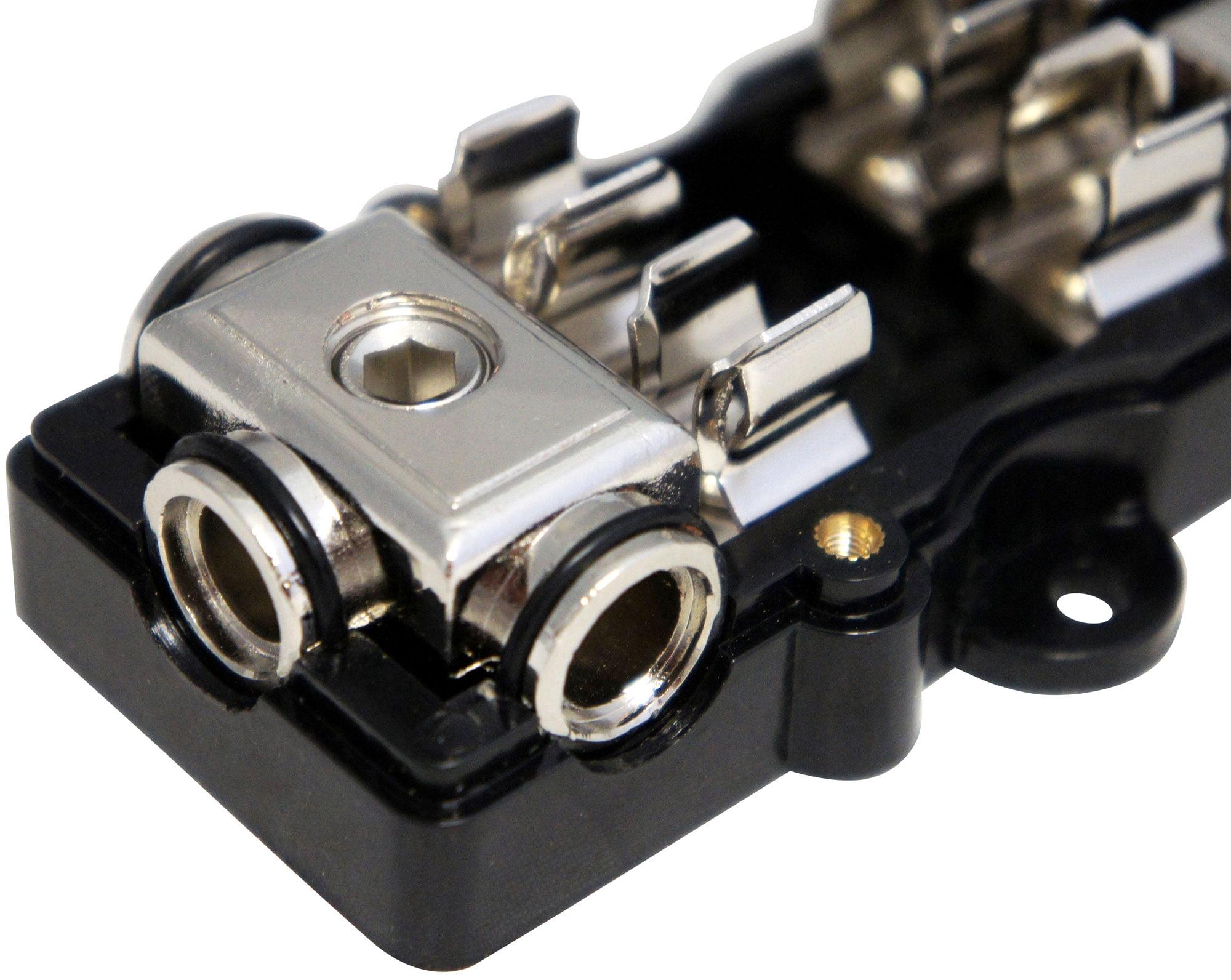 Nickel Harmony Audio HA-AGU80 Car Stereo Fuseholder 5 Pack 80 Amp AGU Fuses