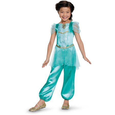 Aladdin Jasmine Classic Child Halloween Costume, One Szie, M (7-8) for $<!---->