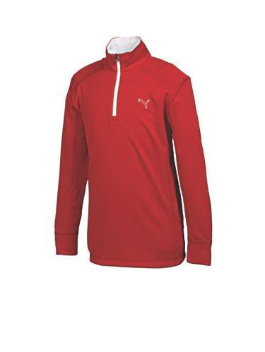Puma Golf Juniors 1/4 Zip Pullover