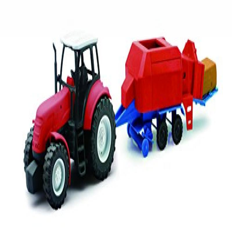 New-Ray Toys Kubota Farm Tractor and Trailer by New-ray Toys