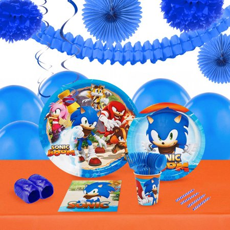Sonic Boom Decoration Kit