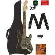 Fender Squier Affinity Stratocaster HSS - Montego Black Metallic w/ Gig Bag