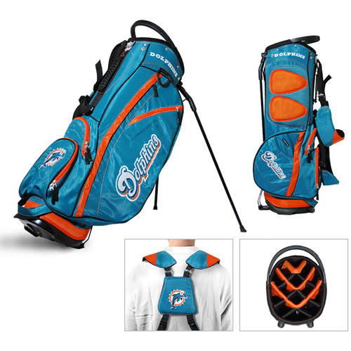 Team Golf NFL Miami Dolphins Fairway Golf Stand Bag