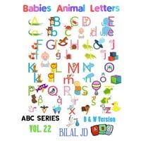 Babies Animal Letters : Alphabet Book For Babies: Alphabet Books: Activity Books