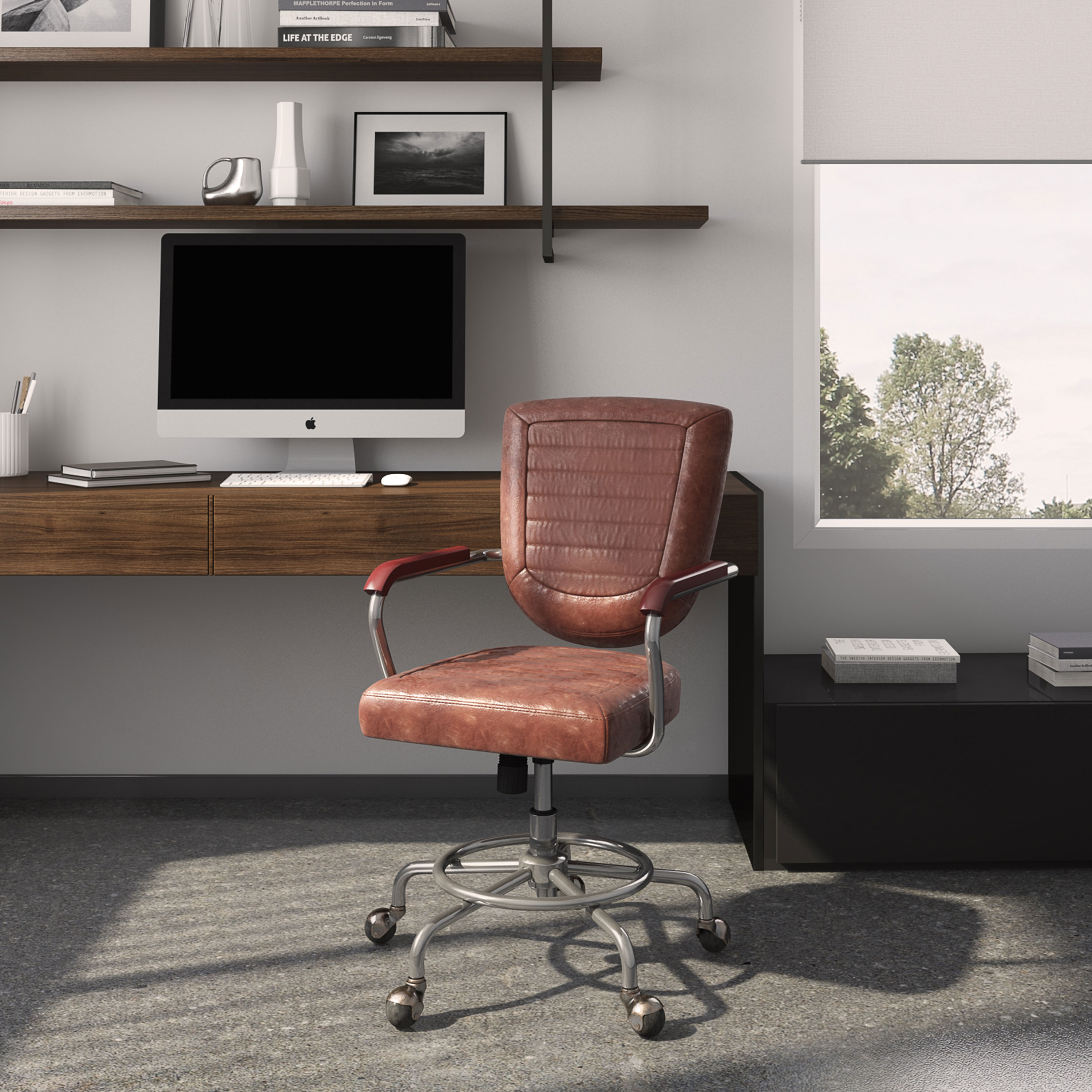Walmart Modern Farmhouse Office Chair Only 33 Was 99 Bargain Shopping With Designer Row