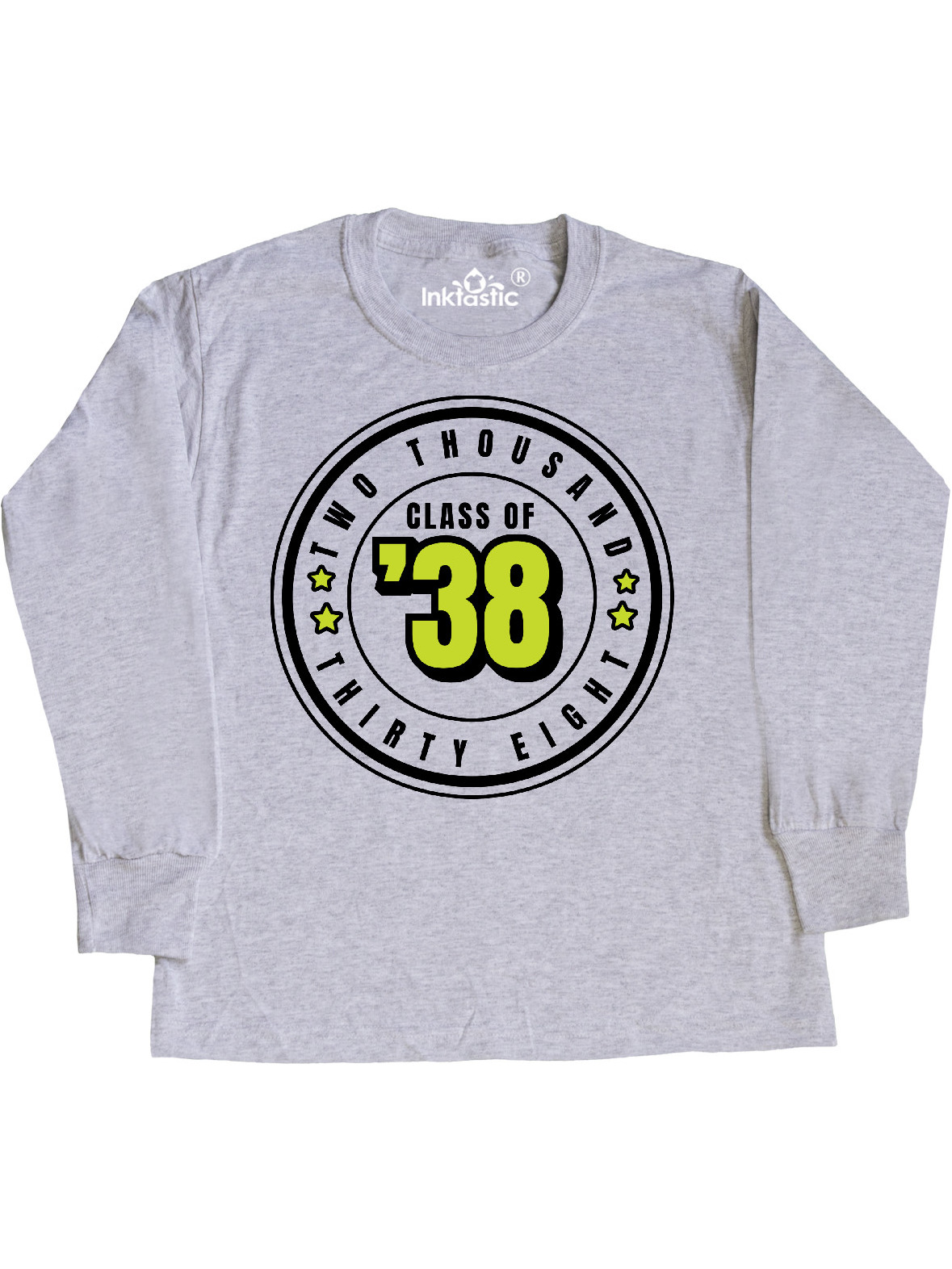 inktastic Class of 2038 in Black Circle with Stars Baby T-Shirt