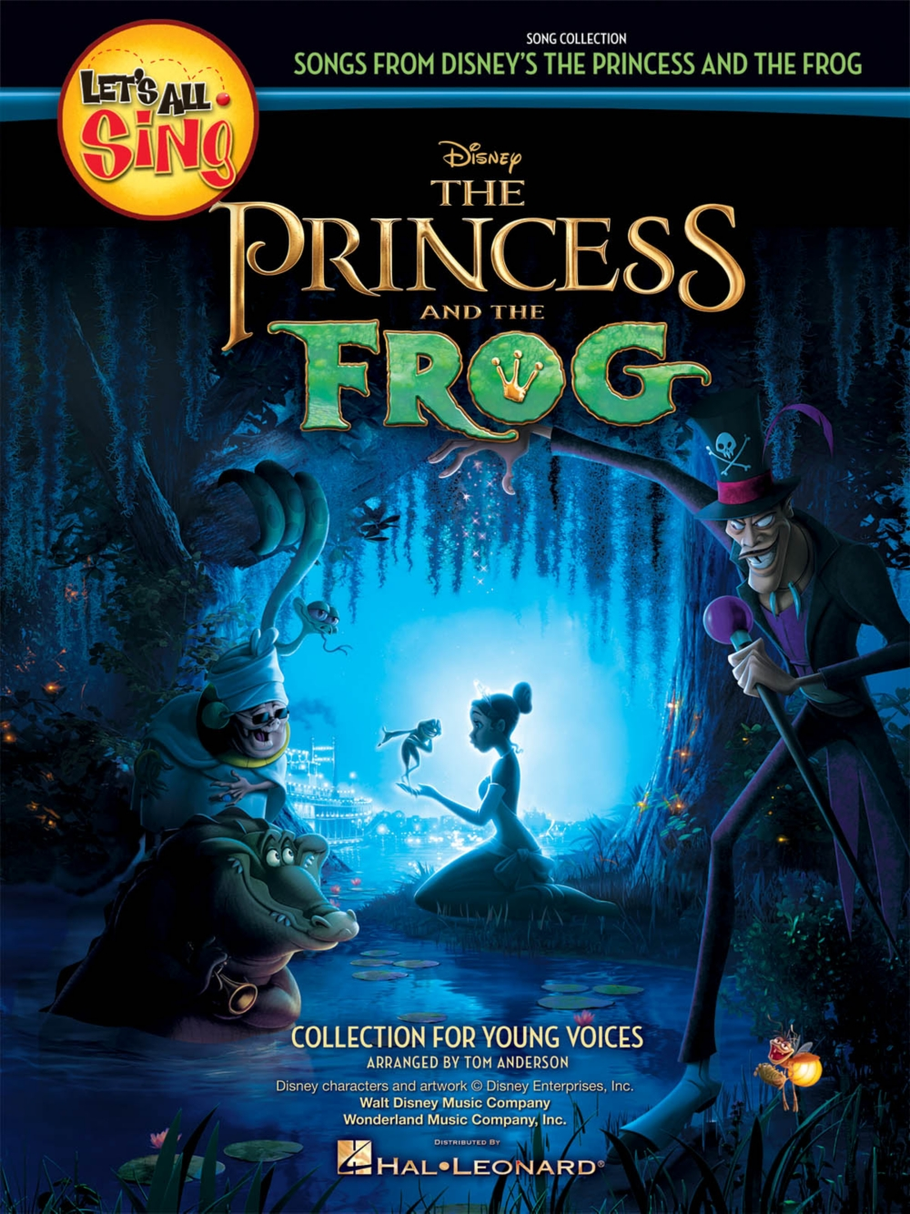 Hal Leonard Let's All Sing Songs from Disney's The Princess and the Frog Performance... by