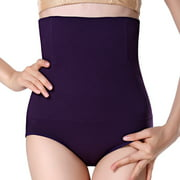 Women High Waist Postpartum Seamless Belly Underwear Body Shaping Pants