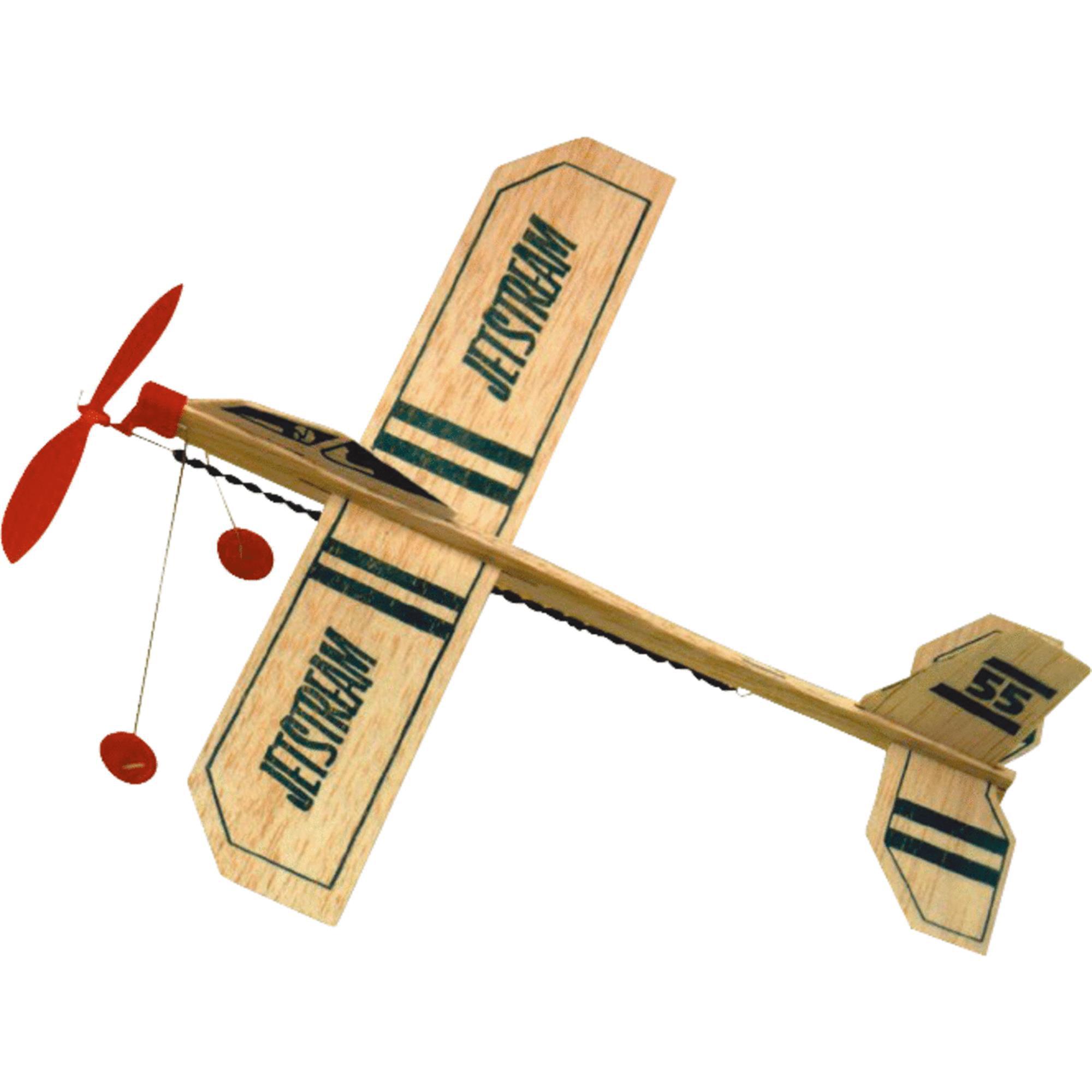 Jetstream Balsa Wood Glider Plane Walmart Com