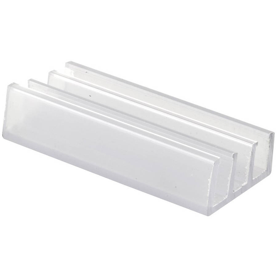 Prime-Line Products M 6089 Shower Door Bottom Guide NylonPack of 2