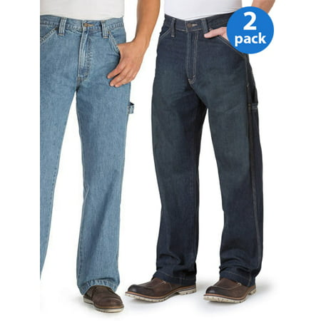 Mens Bootcut Jeans 2-Pack