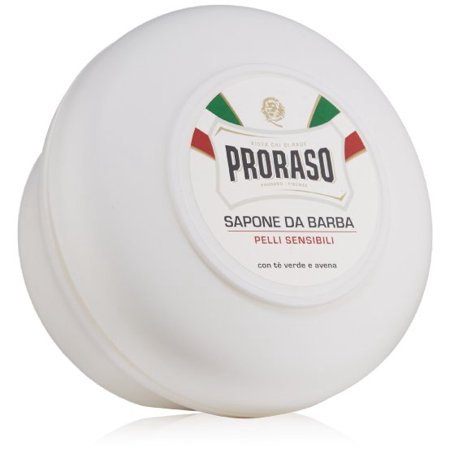 Proraso Shaving Soap in a Bowl, Sensitive Skin, 5.2