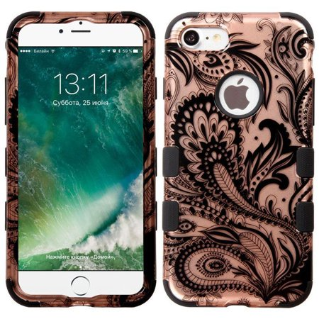 For iPhone 7 / 8 IMPACT TUFF HYBRID Protector Case Skin Phone (Skin Phone Protector Cover)