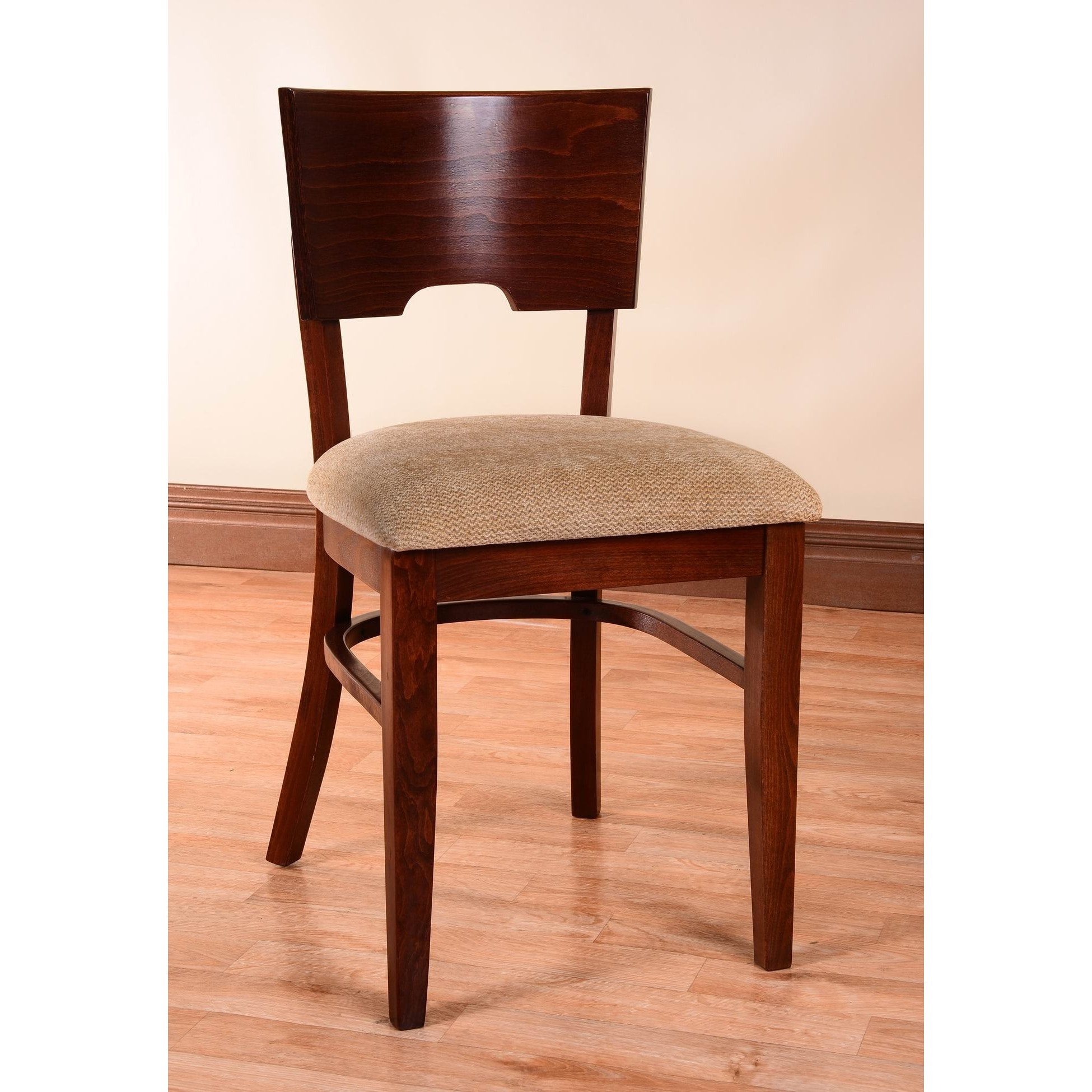 Beechwood Mountain LLC Card Linen Upholstered Side Chairs (Set of 2) by Overstock