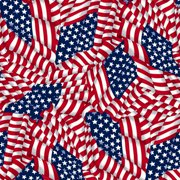 V.I.P by Cranston Stars & Stripes Fabric, per Yard