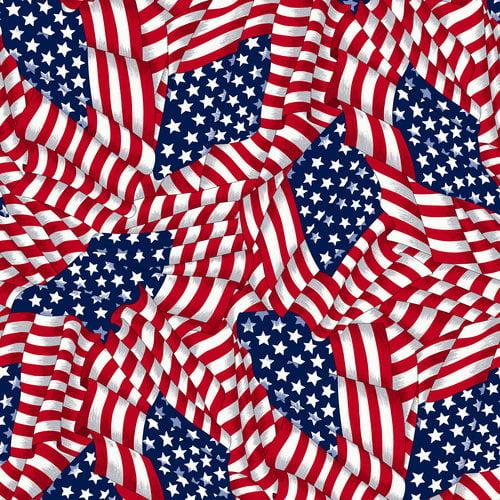 VIP Fabrics Stars/Stripes Fabric