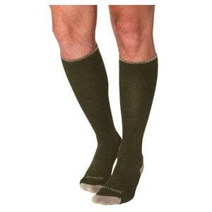 Merino outdoor socks, calf, 15-20 mmhg, x-large, olive part no. 421cx31 (1/ea)