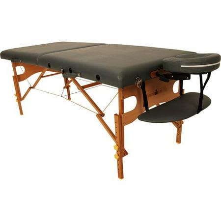 Ironman Dakota Massage Table, Dark Grey
