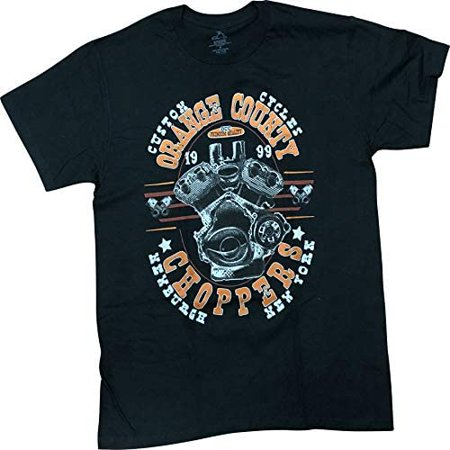 Orange County Choppers OCC Motorcycle Men's T-Shirt Orange County Graphics