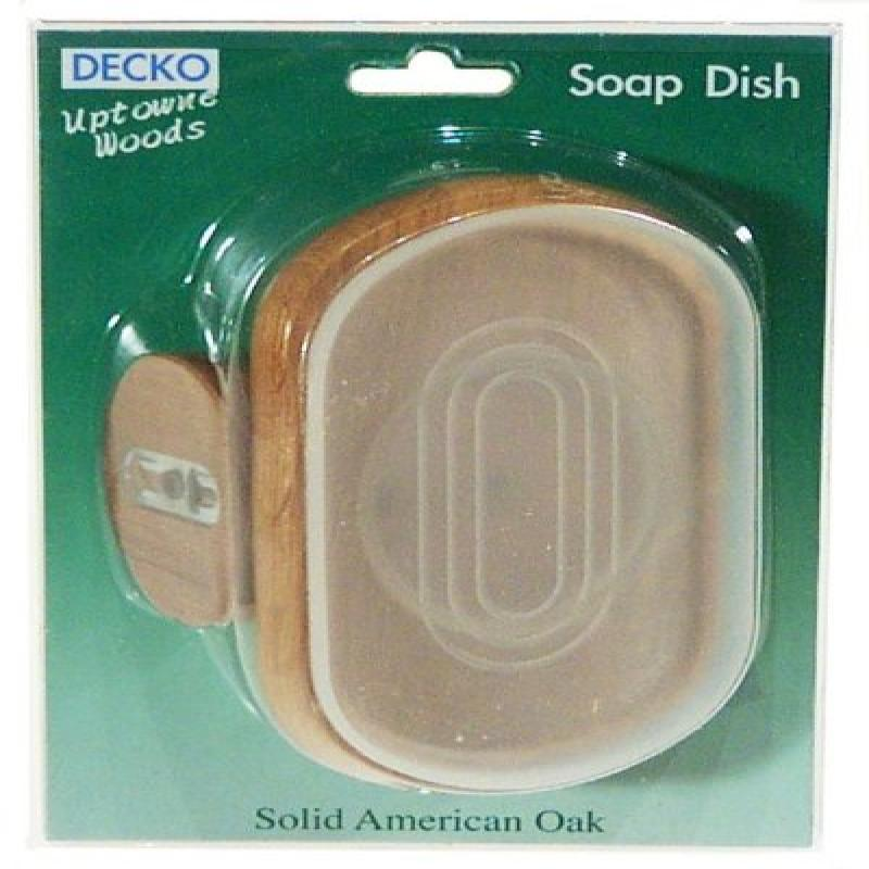 Decko 69000 Uptowne Woods Soap Dish with Screws