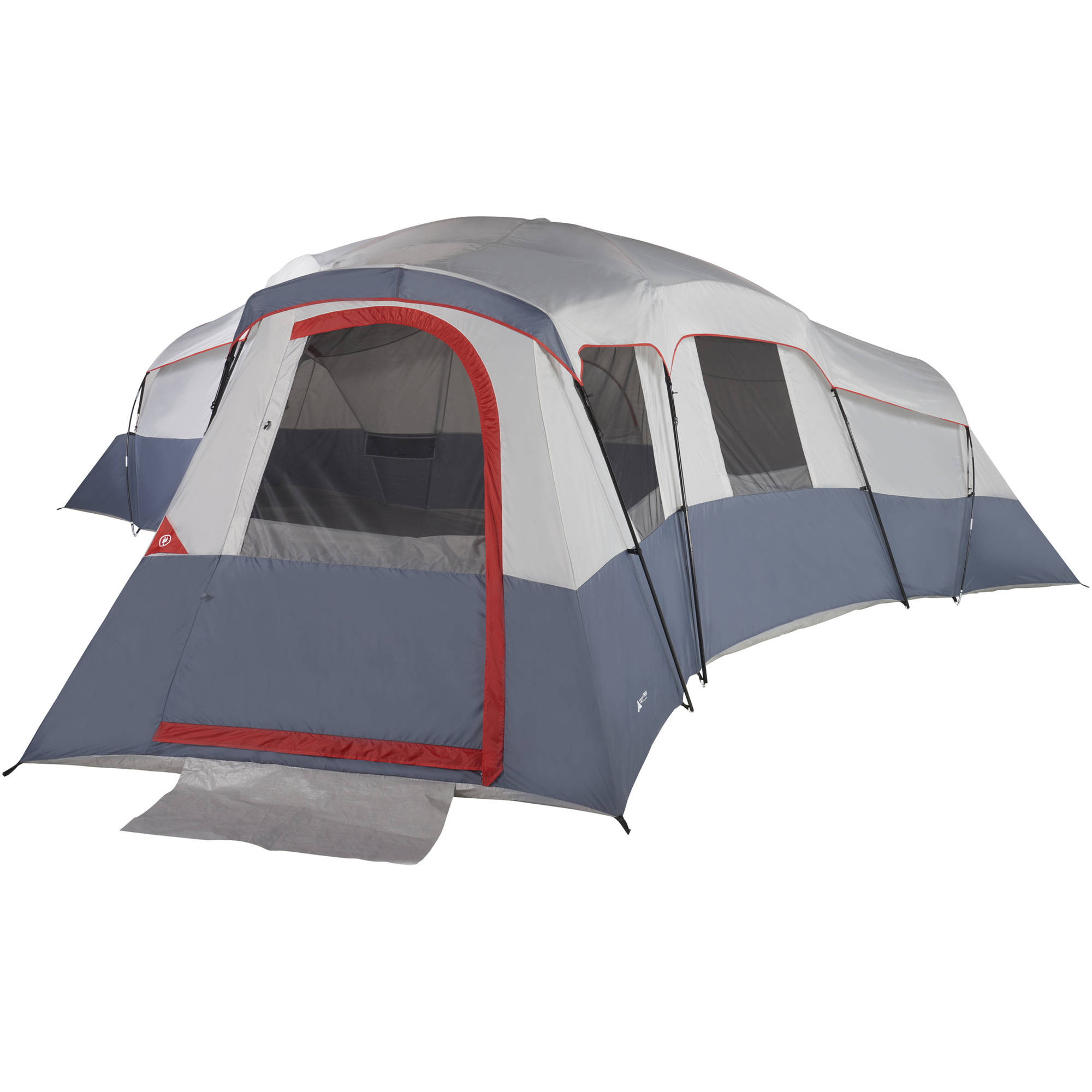 Ozark Trail 20 Person 4 Room Cabin Tent With Mud Mat