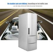 LYUMO Mini Fridge Freezer, Small Fridge Freezer, Portable Or Office Car For Home Boat