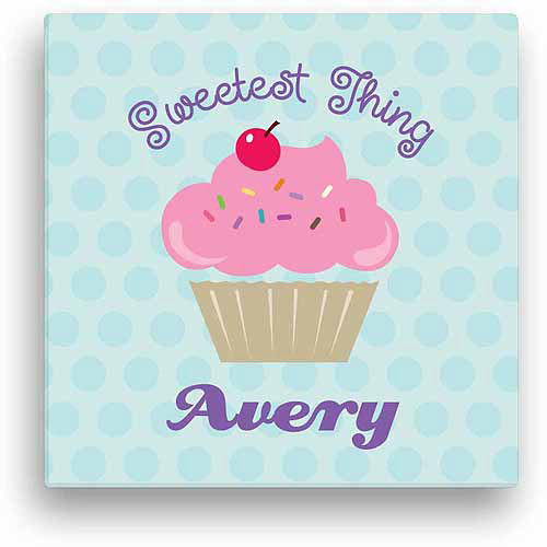 Sweetest Thing Personalized Canvas