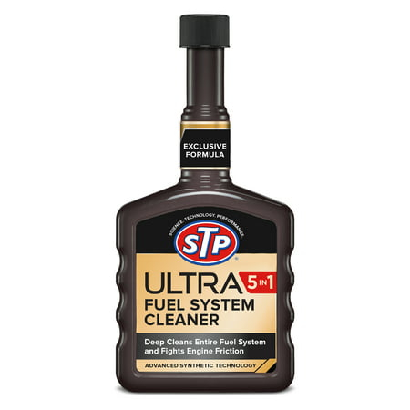 STP Ultra 5 In 1 Fuel System Cleaner - 12 FL OZ Si1 Fuel System Cleaner