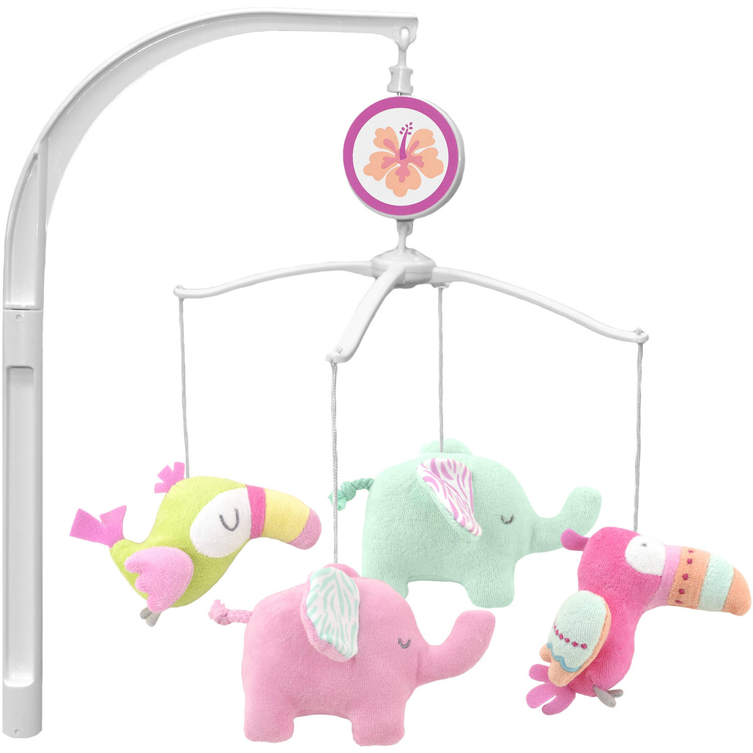 Garanimals Tropical Tales Musical Crib Mobile