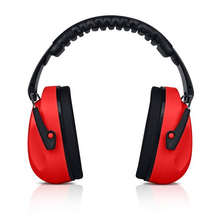 HearTek Kids Ear Protection Noise Reduction Children Protective Earmuffs - Sound Cancelling Hearing Muffs for Toddler, Baby, Infants - Adjustable, Foldable with Travel Bag -