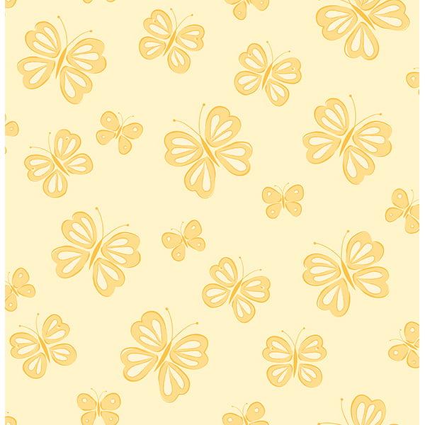 Brewster Butterflies Honey Butterflies Wallpaper