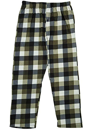North 15 Boy's Plaid Plush Fleece Pajama Pants-1205B-Design3-8