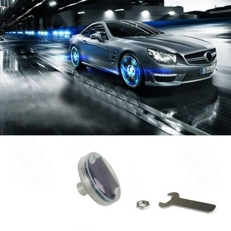 16 Mode Car Auto Solar LED Energy Flash Wheel Tire Light Lamp Decoration 4PC ()