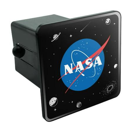 Halloween 2 Official Trailer (NASA Official Meatball Logo Tow Trailer Hitch Cover Plug)