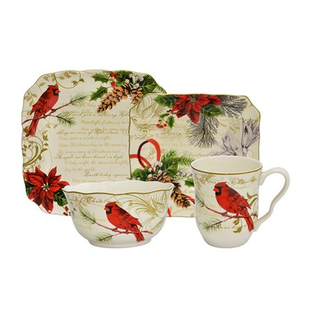 222 fifth holiday wishes 16 piece dinnerware set for 222 fifth dinnerware