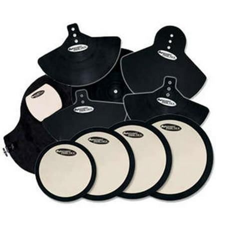 DW Drum Workshop DWCPPADSET3 Smart Practice DeadHead Complete Drum & Cymbal Practice Pad Set ()