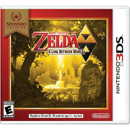 The Legend of Zelda: A Link Between Worlds (Nintendo Selects), Nintendo, Nintendo 3DS, 045496744984 (Legend Of Zelda Costume Link)