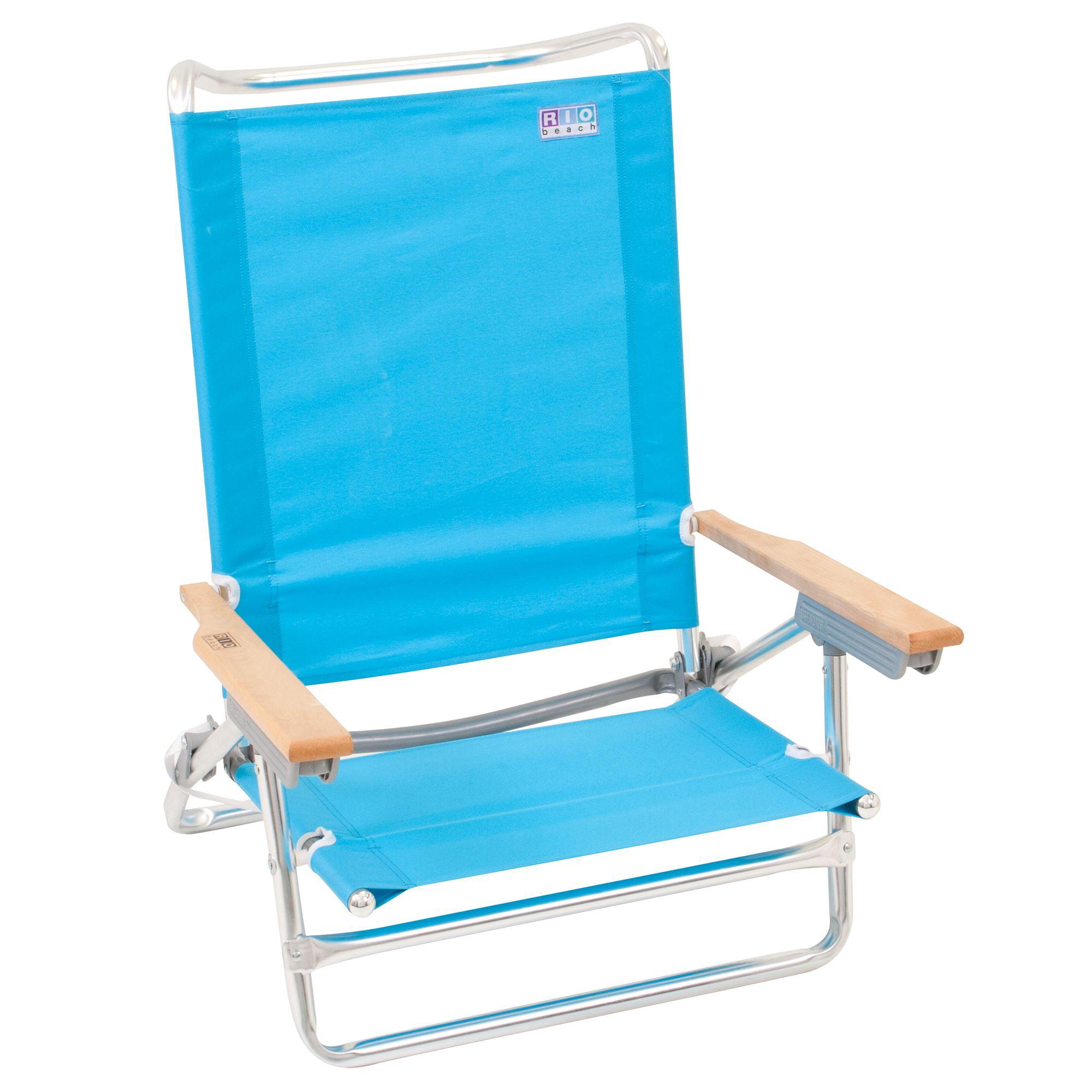 Aloha 1-Position Beach Sand Chair