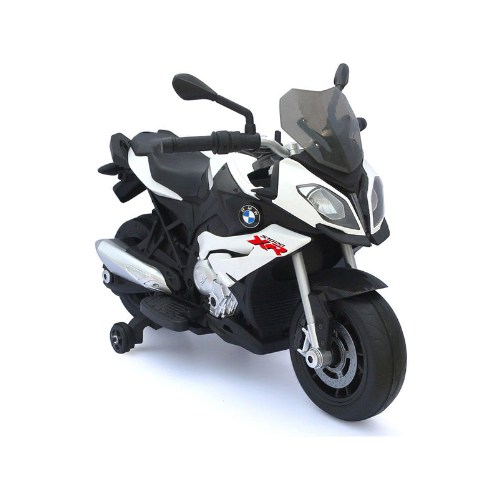 BMW 12V Motorcycle, White by Rastar
