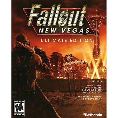 Fallout New Vegas Ultimate Edition, Bethesda, PC, [Digital Download], 818858025249 ()