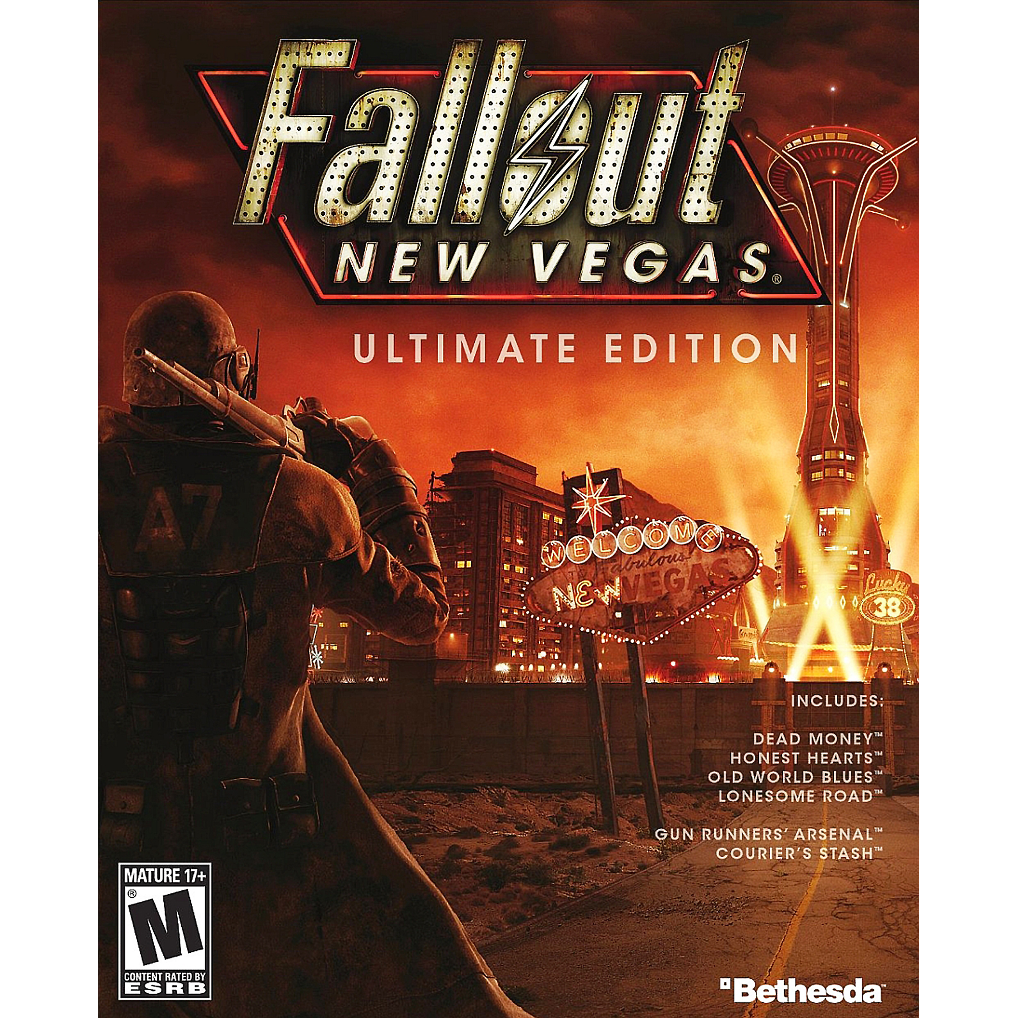 Fallout New Vegas Ultimate Edition, Bethesda, PC, [Digital Download], 818858025249