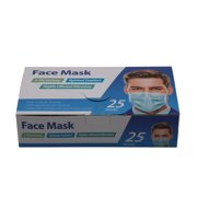 3-Ply Earloop Face Mask, 25 ct.
