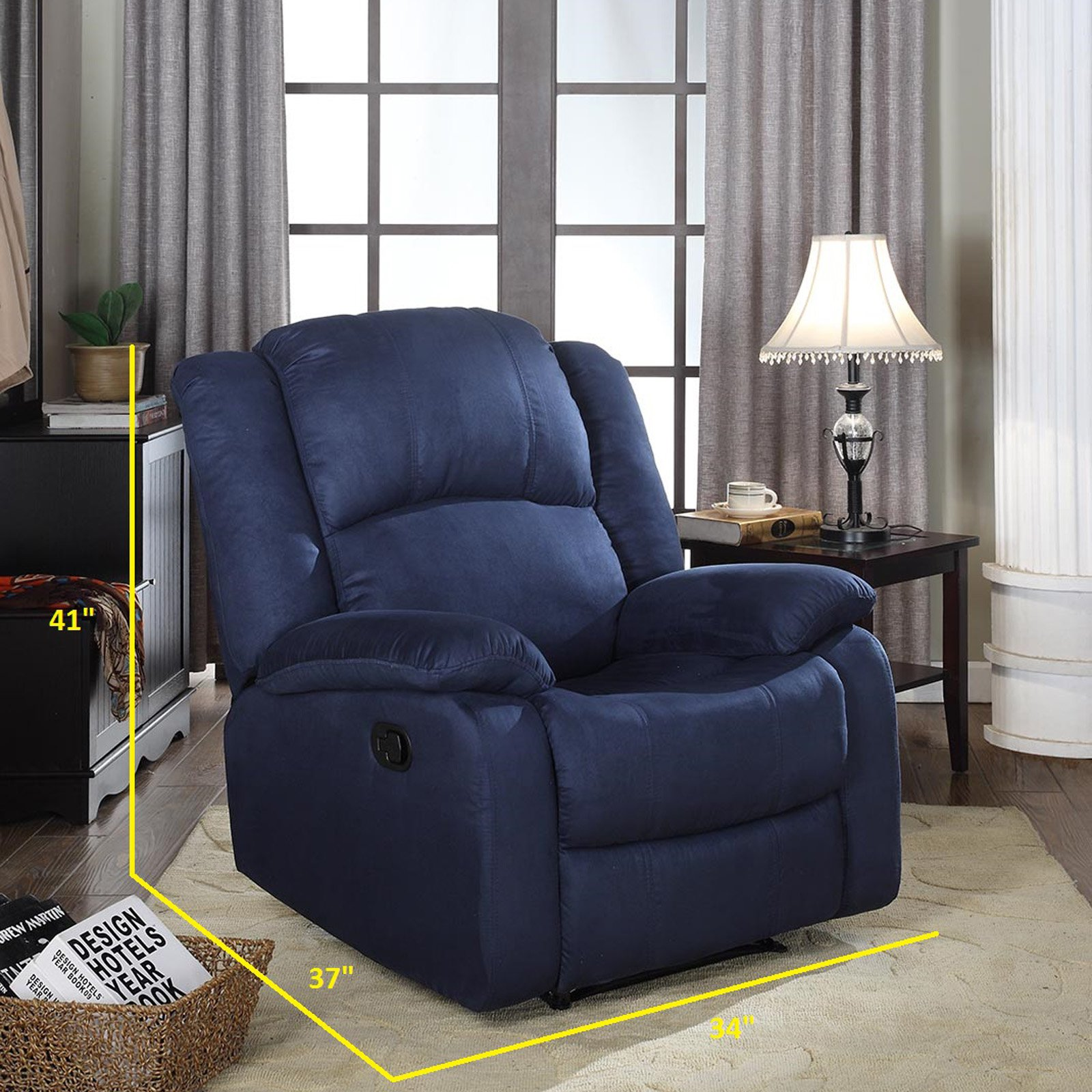 NH Designs 73012 Microfiber Recliner