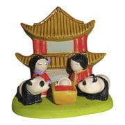 Small Cultural Nativity Scene Seasonal Decoration Nativities Around the World (Asian Nativity)