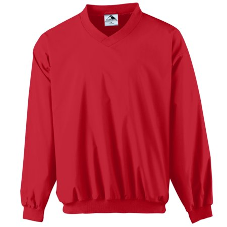 Augusta MICRO POLY WINDSHIRT/LINED RED - Ladies Windshirt