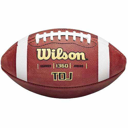 Wilson TDJ Traditional Junior Game Football, Brown by Generic