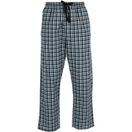 Men's Woven Plaid Drawstring Sleep Pajama Pants (Plaid Pants Mens)